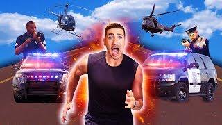 מרדף משטרתי משוגע ?!