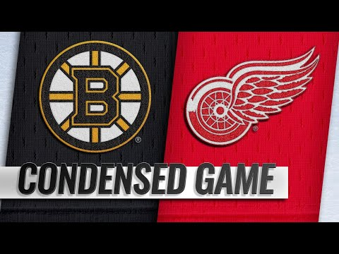 11/21/18 Condensed Game: Bruins @ Red Wings