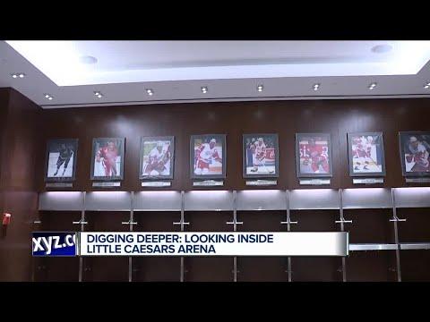 Digging deeper: Looking inside Little Caesars Arena