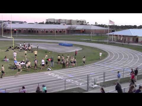 Boys 800m race - Viera HS Race #2
