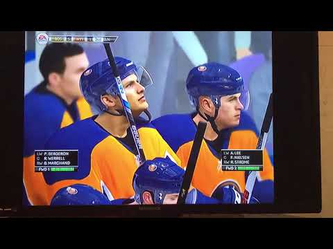 NHL Legacy Edition: Boston Bruins vs New York Islanders