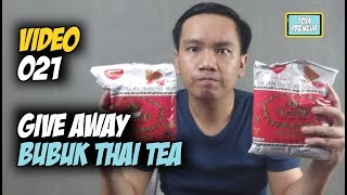 Give Away Bubuk Thai Tea
