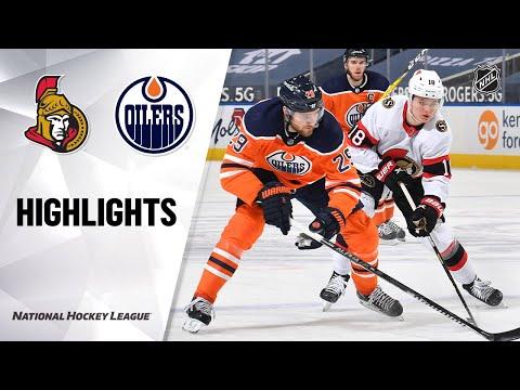 Senators @ Oilers 3/10/21 | NHL Highlights