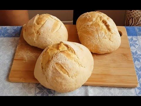 Хлеб в духовке. Подробно, быстро и просто.