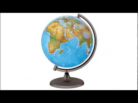 Географическая карта и глобус. Сайт - игра Разумейкин