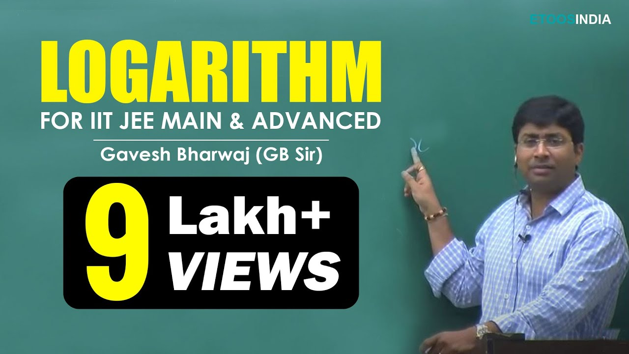 Gavesh Bhardwaj (GB) Sir Mathematics Video Lectures for IIT