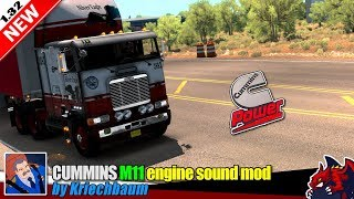 "[""American Truck Simulator"", ""engine sound mod"", ""Cummins M11 engine"", ""by Kriechbaum""]"