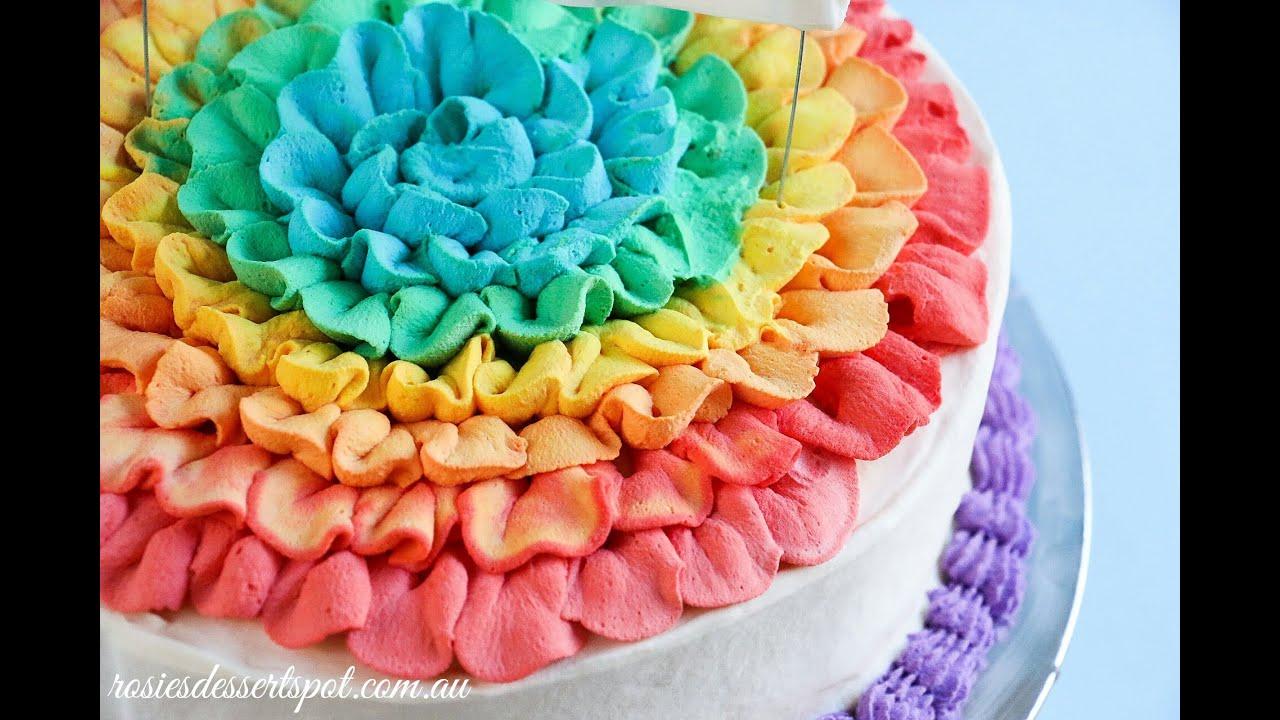 Rainbow Cake  Colors