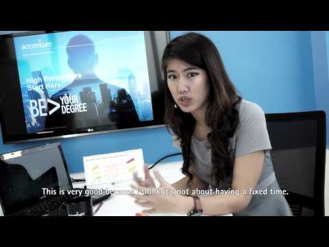 Neung's challenging and exciting career at Accenture Thailand