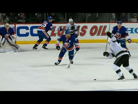 Kings' Fantenberg scores after Pearson finds him with sweet feed