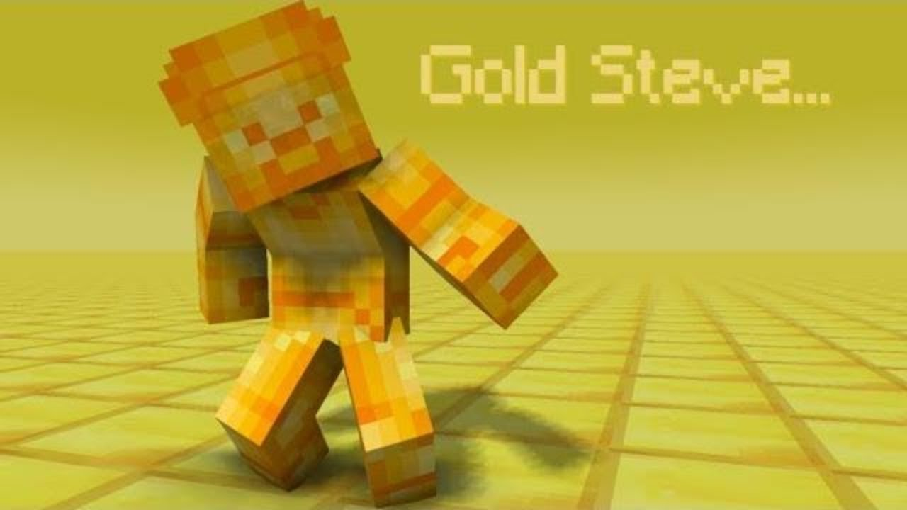 The Story Of Gold Steve Minecraft
