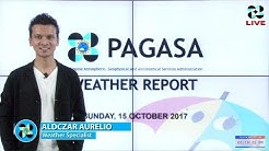 Public Weather Forecast Issued at 4:00 PM October 15, 2017