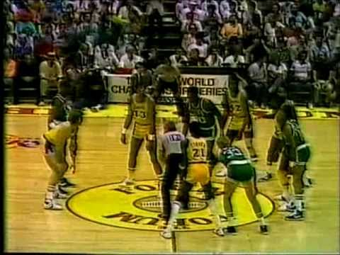 1984 NBA Finals: Celtics at Lakers, Gm 3 part 1/13