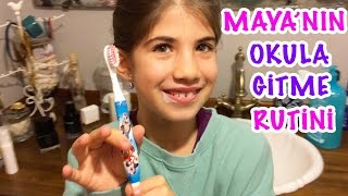 Maya's morning routine | Our Family