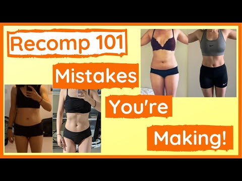 Body Recomposition Diet & Exercise EXPLAINED (How it ACTUALLY works)