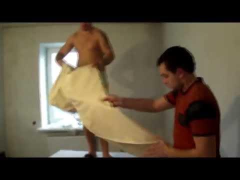 видео: Монтаж натяжного потолка
