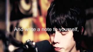 Note To Self-Jake Bugg (Lyrics)