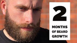 2 Months of Beard Growth -  My Beard Growth Tips