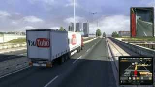 Euro Truck Simulator 2 mod: YouTube Trailer (Horrible Crash) (One Pound Fish)