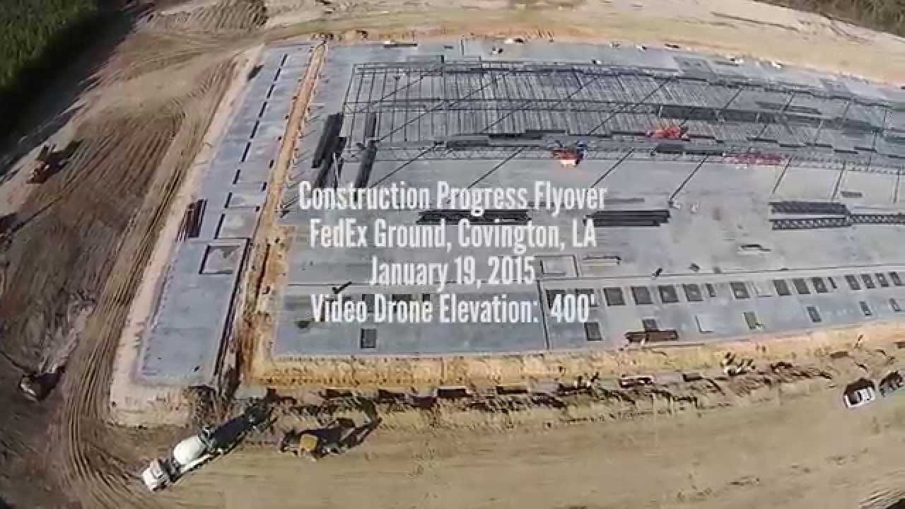 Cooper Construction - Progress Flyover - FedEx Ground Covington, LA