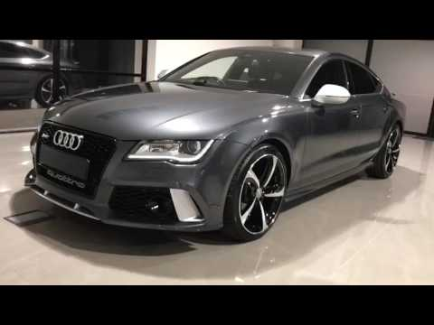 Grey Audi A7 Rs7 Facelift Conversion A7 30 Tdi Quattro Sline