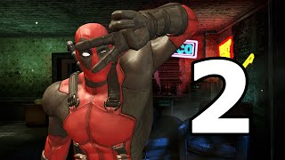 Deadpool Walkthrough Part 2 - No Commentary Playthrough (PC)