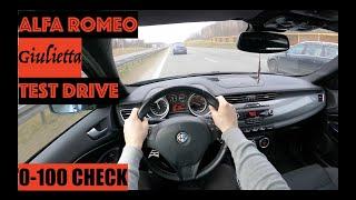 2011 Alfa Romeo Giulietta 2.0JTDm-2 140hp   POV TEST Drive   0-100 Acceleration by #GearUp
