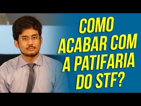 Kim Kataguiri | Como acabar com a PATIFARIA do STF no Brasil?