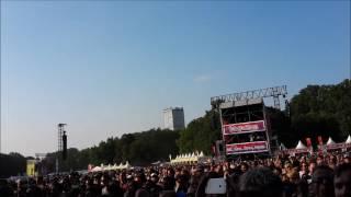 Tocotronic - Zucker - Live Berlin 2016 - Lollapalooza - HandyCam
