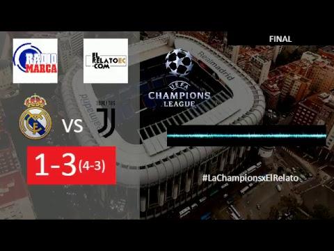 EN VIVO | FORMATO RADIO | Real Madrid vs Juventus, con autorización de radio Marca