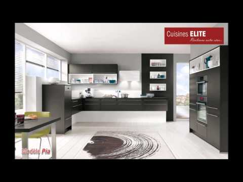s lection de nos mod les de cuisines elite. Black Bedroom Furniture Sets. Home Design Ideas
