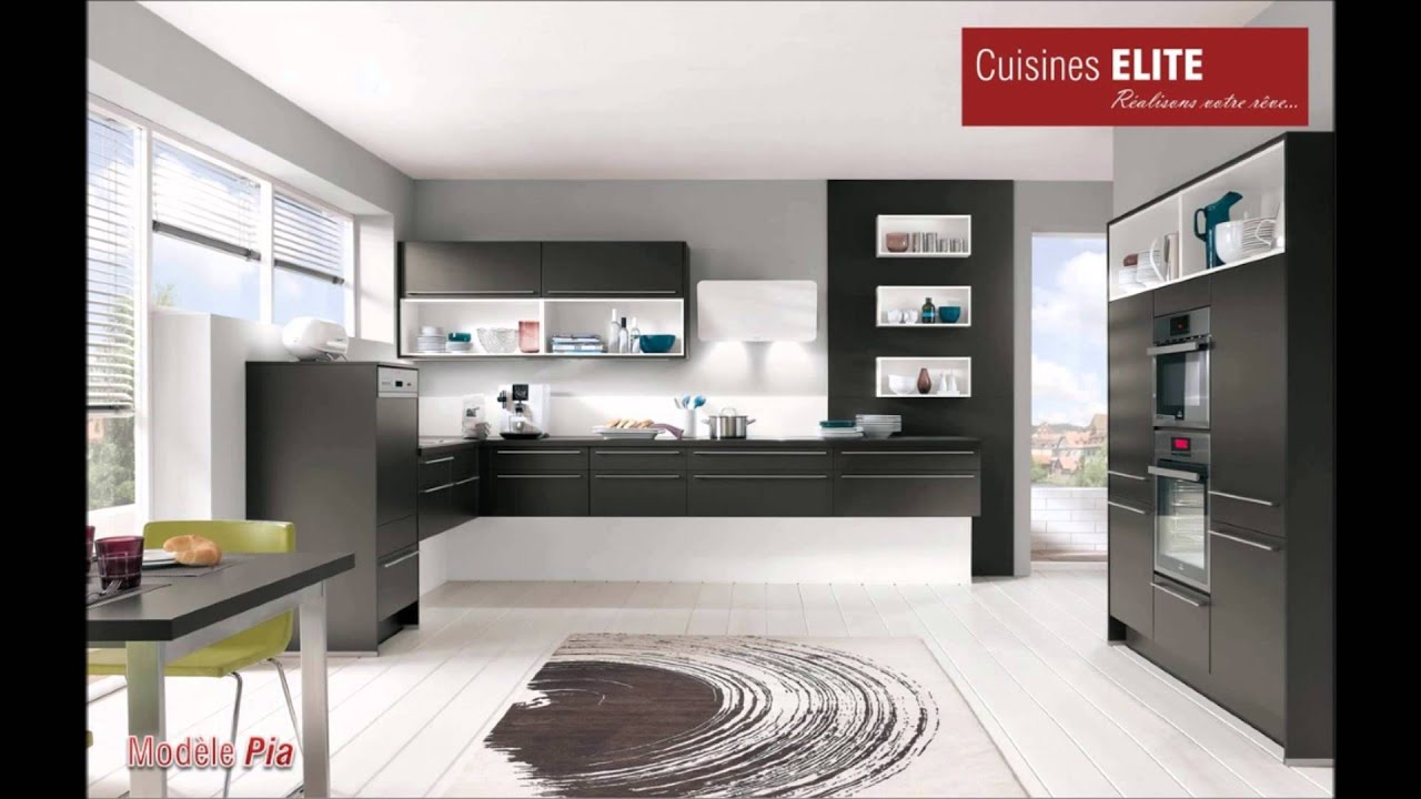 s lection de nos mod les de cuisines elite youtube. Black Bedroom Furniture Sets. Home Design Ideas