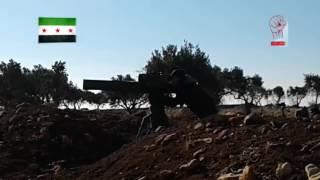 قتلى للأسد إثر تدمير غرفة عمليات بصاروخ تاو على جبهة منيان غرب حلب