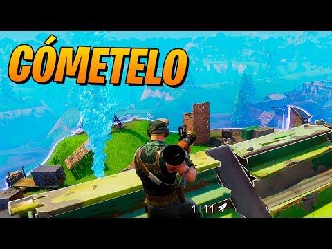 COME EL COHETE!! FORTNITE: Battle Royale - 동영상