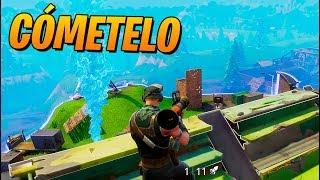 COME EL COHETE!! FORTNITE: Battle Royale