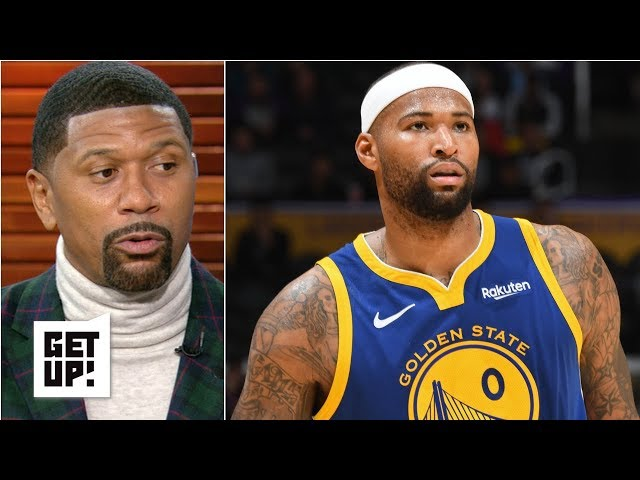 OKC, Rockets targeting Boogie Cousins could threaten Warriors' three-peat – Jalen Rose   Get Up!
