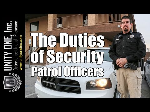 The Duties of Security Patrol Officers - Security Officer Companies