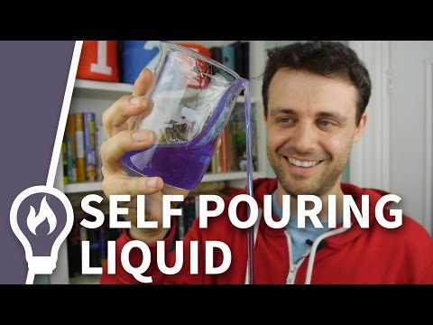 The liquid that pours itself - Polyethylene Oxide