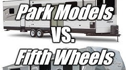 HaylettRV.com - Park Model vs Fifth Wheel Comparison with Josh the RV Nerd