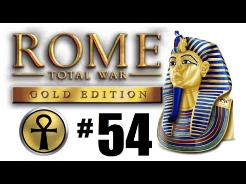 Rome Total War - Egyptian Campaign Part 54: 200+ Chariots at work