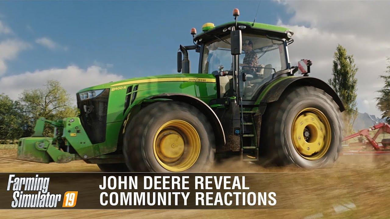 John Deere finally arrives to FS19