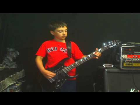 Here is one of my students Nathan playing Sanitarium. Great job Nathan!