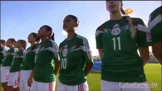 México vs Japón Mundial Femenil Sub-17 Costa Rica 2014