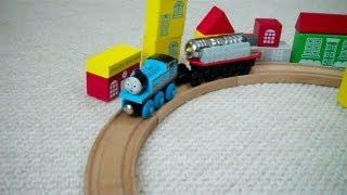 The Jet Engine Motorized Wooden Kids Thomas The Train Set Toy Thomas The Tank Engine
