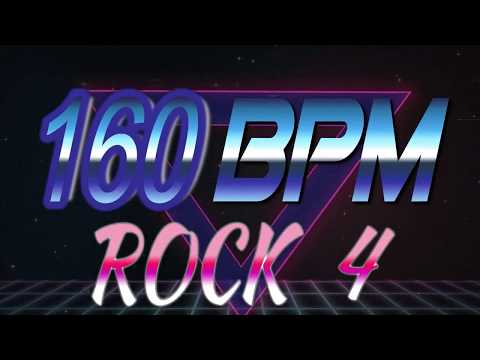 160 BPM - Rock 4 - 4/4 Drum Track - Metronome - Drum Beat