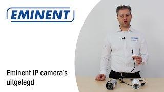 Eminent IP Camera's uitgelegd