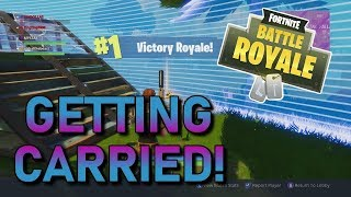 GETTING CARRIED BY A 9 YEAR OLD IN FORTNITE!? | 15 KILL DUO JEU!? | GAMEPLAY DE FORTNITE BATTLE ROYALE