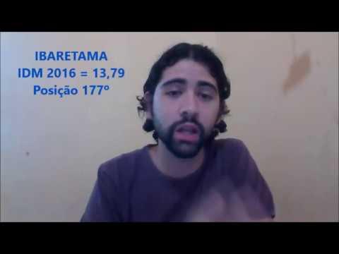 ÍNDICE DE DESENVOLVIMENTO MUNICIPAL IBARETAMA (PARTE 2)