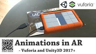 كيفية تفعيل الرسوم المتحركة في ع مع الإدخال باللمس باستخدام Vuforia AR & Unity3D