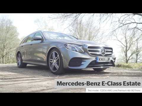 Mercedes Benz E Class Estate Review 2019 What Car